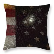 The Flag Was Still There Throw Pillow
