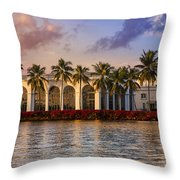 The Flagler Museum Throw Pillow