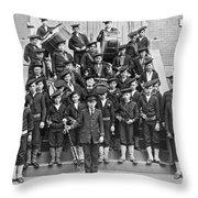 The Flatbush Boys' Club Band Throw Pillow