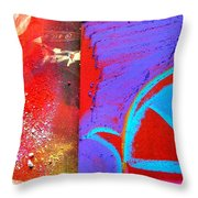 The Fleeting Past Throw Pillow