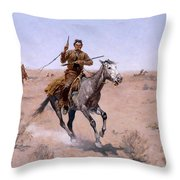 The Flight Throw Pillow