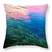 The Flow - Paint Throw Pillow