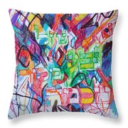 The Flowing River The Source Of Wisdom 1 Throw Pillow