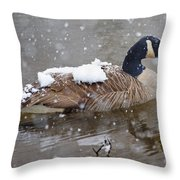 The Flurry Collector Throw Pillow