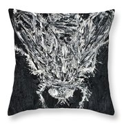 The Fly - Oil Portrait Throw Pillow