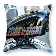 The Flying Forty Eight Throw Pillow