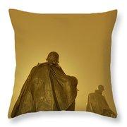 The Fog Of War #2 Throw Pillow