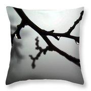 The Foggiest Idea Throw Pillow