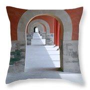 The Forbidden City Throw Pillow