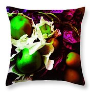The Forbidden Fruit II Throw Pillow