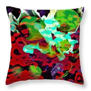 The Forbidden Fruit Throw Pillow