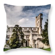 The Forgotten Abbey 2 Throw Pillow