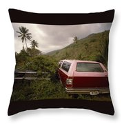 The Forsaken Cars Throw Pillow