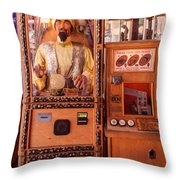 The Fortune Teller And Friend Throw Pillow
