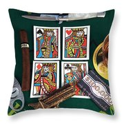 The Four Horsemen Throw Pillow