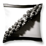 The Framing Of Brussels Sprouts Throw Pillow