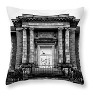 The Free Library Of Philadelphia - Manayunk Branch Throw Pillow