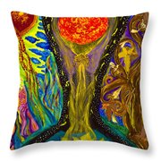 The Freedom Within Throw Pillow