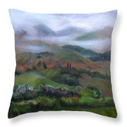 The French Pyrenees Throw Pillow