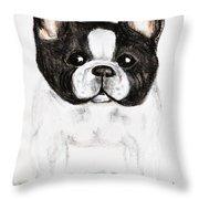 The Frenchton Throw Pillow