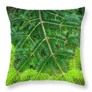 The Freshness Of New Growth Is A Thing Of Beauty And Wonder Throw Pillow