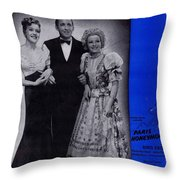 The Funny Old Hills Throw Pillow