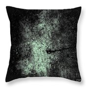 The Galaxy B W  Throw Pillow
