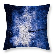 The Galaxy Blue Version Throw Pillow