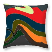 The Gale Throw Pillow