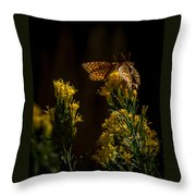 The Game Of Nature Throw Pillow