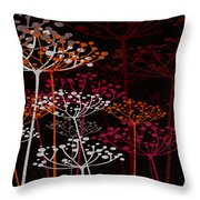The Garden Of Your Mind 1 Throw Pillow