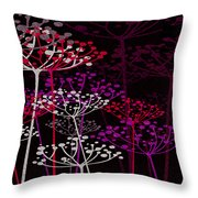 The Garden Of Your Mind 3 Throw Pillow