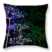 The Garden Of Your Mind Rainbow 1 Throw Pillow