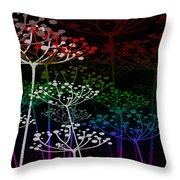 The Garden Of Your Mind Rainbow 3 Throw Pillow