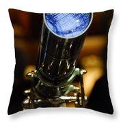 The Garden Telescope Throw Pillow