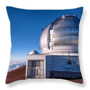 The Gemini Observatory Throw Pillow