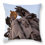 General George Meade Memorial -- The Front Throw Pillow