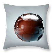 The Generator Throw Pillow by Adam Vance