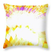 The Genie Leaves The Lamp Throw Pillow