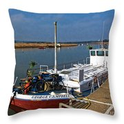 The George Campbell  Throw Pillow