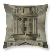The German Cathedral On The Gendarmenmarkt Throw Pillow