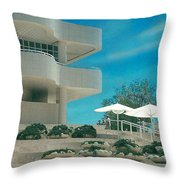 The Getty Panel 1 Throw Pillow