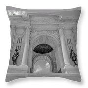 The Gettysburg Pennsylvania State Memorial  3 Throw Pillow