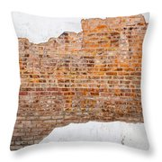 The Ghost Behind The Wall Throw Pillow
