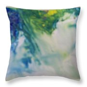 Ghost Of Puff Dragon Throw Pillow