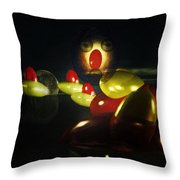 The Ghost Of The 3 Eyes Throw Pillow