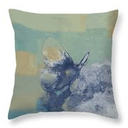 The Giant Butterfly And The Moon - J216094206-c09a Throw Pillow by Variance Collections