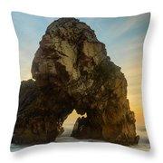 The Giant Of The Seas I Throw Pillow