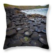 The Giant's Causeway - Staircase Throw Pillow