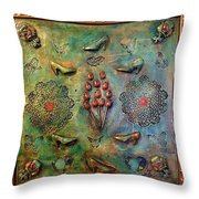 The Gift By Alfredo Garcia Art Throw Pillow